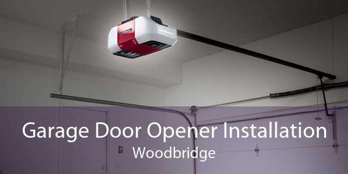 Garage Door Opener Installation Woodbridge