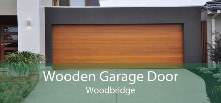 Wooden Garage Door Woodbridge